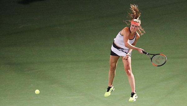 Украинка пробилась во второй круг теннисного турнира в Бирмингеме
