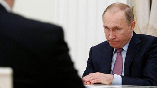 Какое слово не может произнести Путин: меткая карикатура