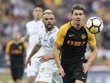 Динамо попытается взять реванш за поражение от Янг Бойз в квалификации Лиги чемпионов