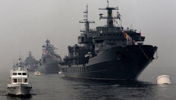 Российские корабли ищут диверсантов на Каспии