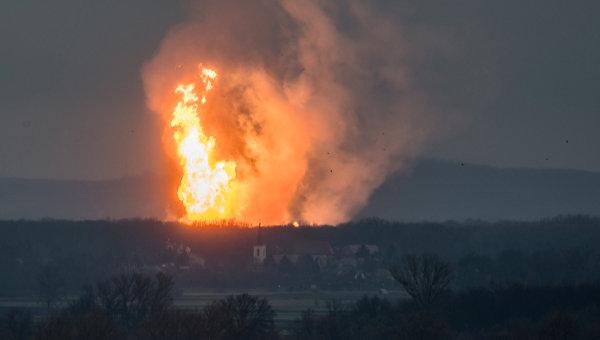 Италия намерена объявить ЧП из-за взрыва на газовом хабе в Австрии