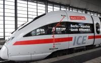 В Германии запустили поезд, который разгоняется до 300 км/ч (видео)