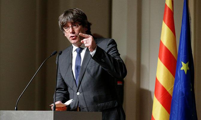 Немецкий суд решил выдать лидера Каталонии Пучдемона Испании