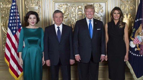 Трамп: «Узбекистан – наш стратегический партнер»
