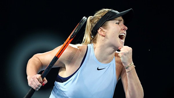 Свитолина вышла в 1/4 финала Australian Open