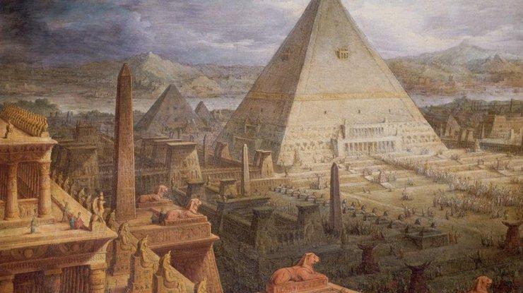 Древний Египет могли погубить извержения вулканов - ученые