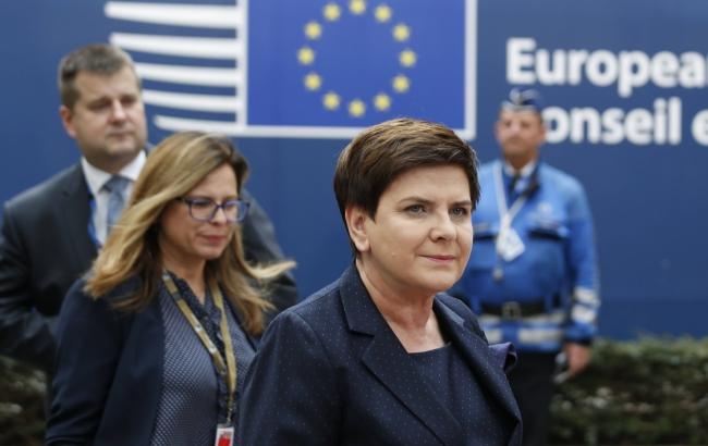 Беата Шидло перед саммитом ЕС: сначала надо решить «горячие» вопросы
