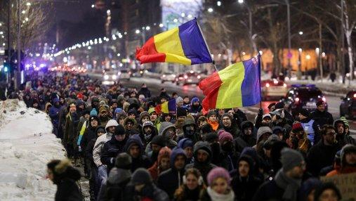 Во время протестов в Румынии пострадал журналист Deutsche Welle