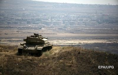 Израиль нанес удар армии Сирии