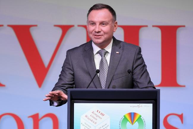 Президент Польщі взяв участь у Конгресі сільських ґмінних управ