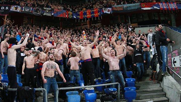 УЕФА оштрафовал российский клуб за поведение фанатов на матче ЛЧ