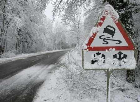 У Запорізькій області через снігопад до ранку обмежено рух великогабаритного транспорту