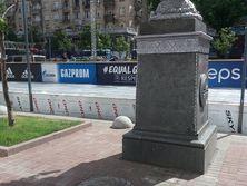 Журналистка Наталья Мамчур опубликовала фотографию с изображением баннеров с логотипом Газпрома в фан-зоне финала Лиги чемпионов