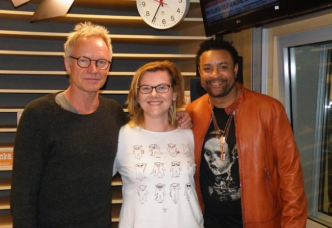 Exclusive: Sting and Shaggy talk to Radio Poland about team-up