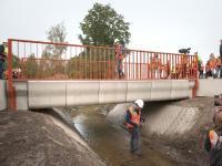 В Нидерландах открыли первый в мире мост, отпечатанный на 3D-принтере