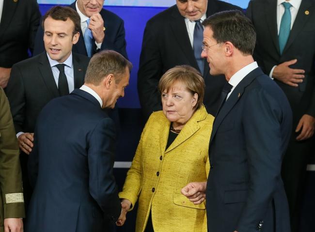 Меркель не согласна с предложениями Туска по поводу миграционного кризиса