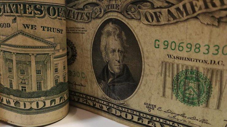В Украине снизился курс доллара