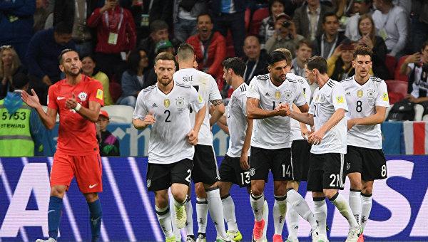 Немцы не смогли обыграть чилийцев в матче Кубка конфедераций-2017