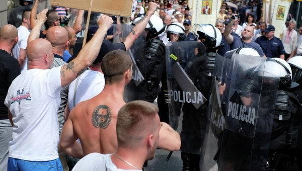 Нападение на шествие украинцев в Перемышле: суд вынес приговор