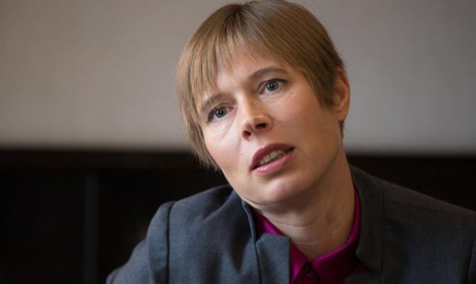 Президент Эстонии назвала Россию «сложным соседом»