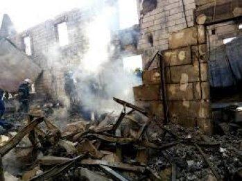 Пожар на складах на ул.Туполева в Киеве ликвидирован, пострадавших нет