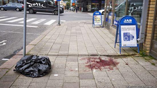 Стали известны подробности о нападавшем с ножом в Финляндии