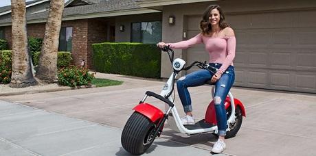 Представлен электрический скутер с высокой проходимостью (ФОТО, ВИДЕО)