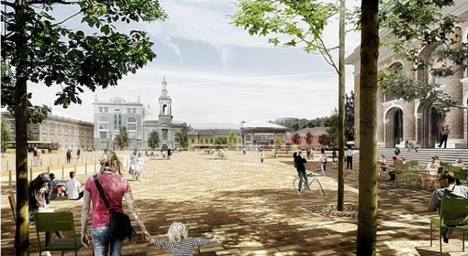 Реконструкция Контрактовой площади в Киеве будет стоить 160-170 млн грн