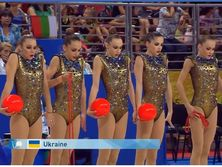 Украинские спортсменки получили 21,400 баллов за свое выступление