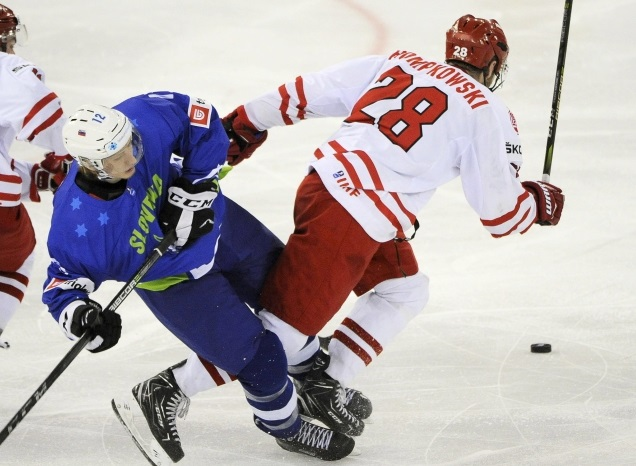 Ice hockey: Poland beat Slovenia 4:2