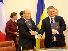 Соглашение подписали Аваков и Ле Дриан