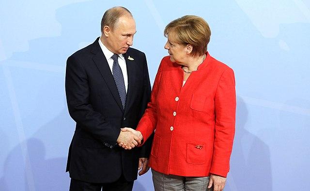 Пєсков про теми розмов канцлера Німеччини та президента Росії
