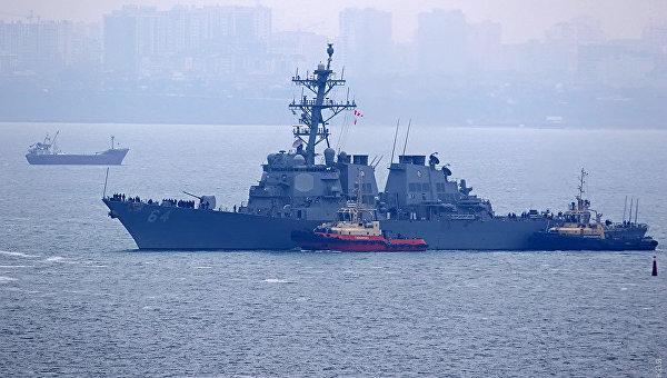 США наращивают военно-морские силы в Черном море