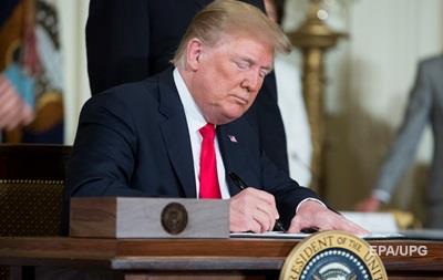 Трамп подписал оборонный бюджет США на 2019 год