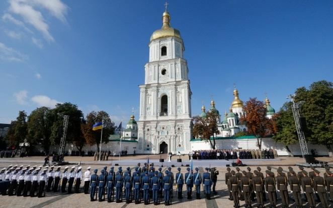 Украина празднует 26-ю годовщину Независимости