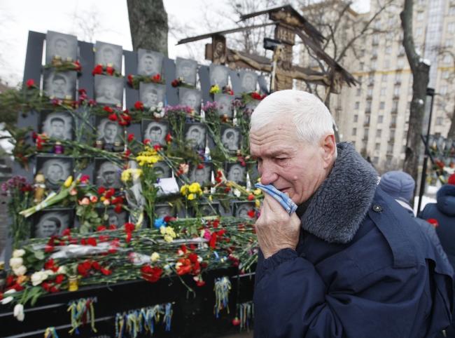 В Украине почтили память героев Небесной сотни
