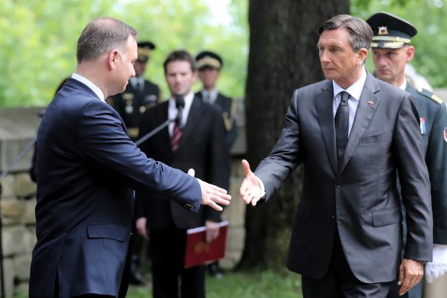 Візит до Польщі президента Словенії