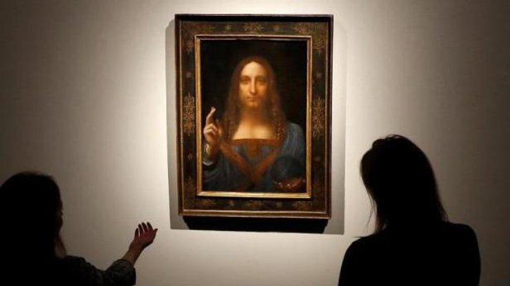 Картина да Винчи ушла с молотка за рекордную сумму