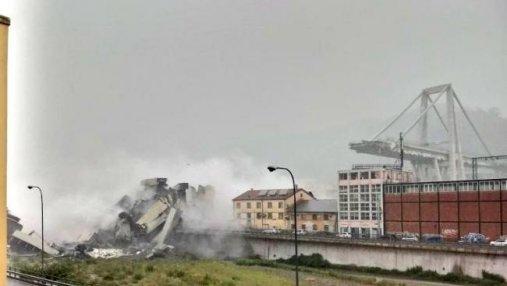 Обвал моста в Генуе: под завалами найден еще один автомобиль с погибшими