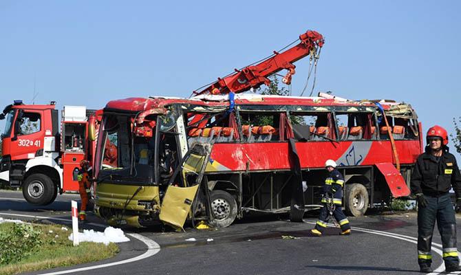 Авария украинского автобуса в Польше: водителю предъявят обвинение