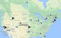 Создана карта вторжений инопланетян на Землю