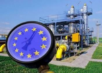 Транзит газа Газпрома в ЕС через Украину во вторник упадет на треть