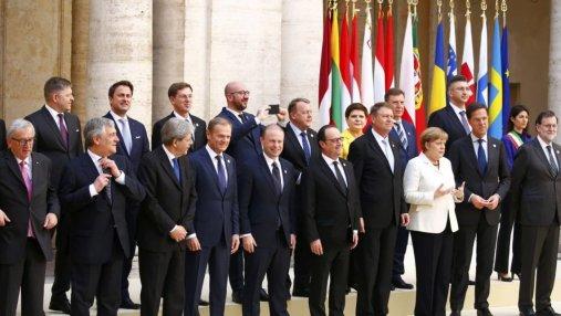 В Брюсселе начался саммит лидеров ЕС