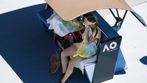 Теннис: Свитолина потерпела сокрушительное поражение в четвертьфинале Australian Open-2018