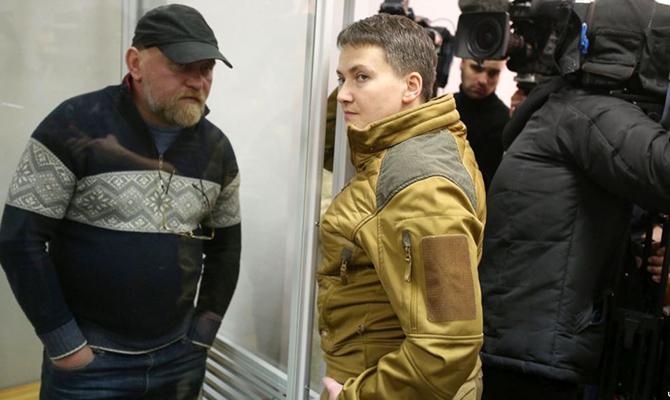 СБУ: Савченко и Рубан отказываются от дачи показаний