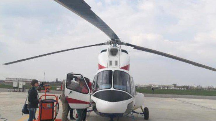 Новый украинский вертолет совершил первый полет (фото, видео)