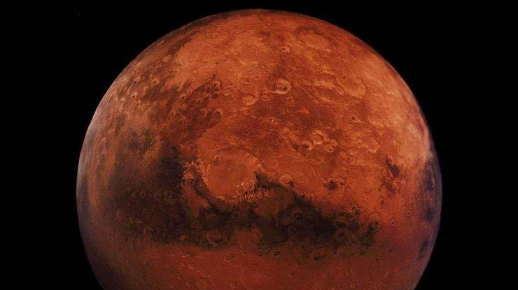 Следы воды на Марсе оказались песком (фото)