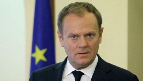 Туск:  ЕС обсудит минские соглашения, чтобы продлить санкции против РФ