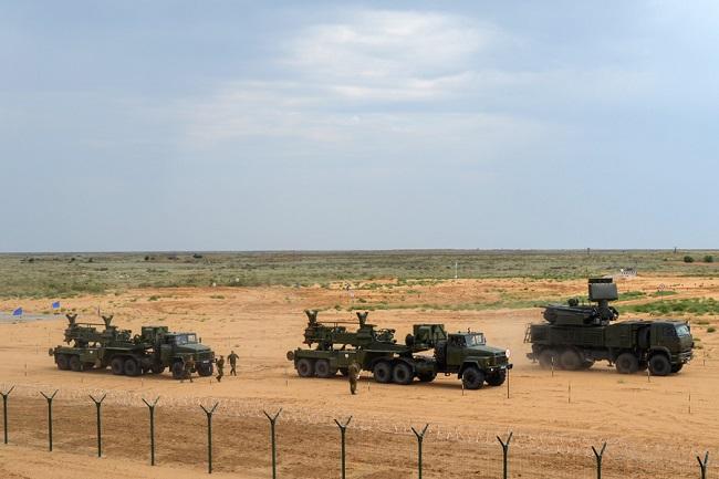 Россия вооружила сирийский режим зенитными комплексами «Панцирь»