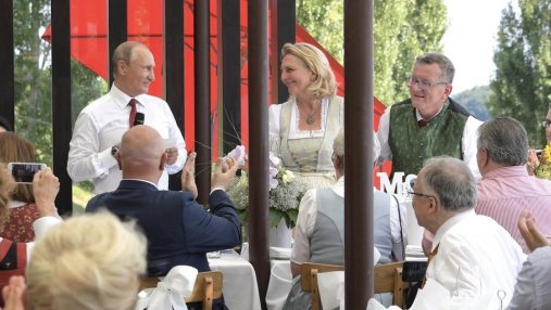 Чисто по-русски: какой свадебный подарок сделал Путин главе МИД Австрии